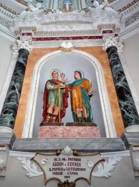 Calendario Gregoriano Santi.Santi Abdon E Sennen Unita Pastorale Mons Antonio Barosi